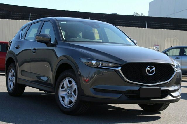 New Mazda CX-5 KF2W76 Maxx SKYACTIV-MT FWD, 2018 Mazda CX-5 KF2W76 Maxx SKYACTIV-MT FWD Machine Grey 6 Speed Manual Wagon