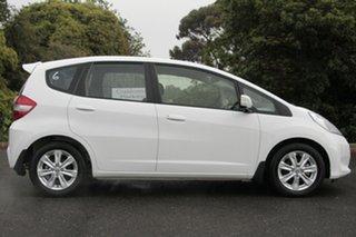 2012 Honda Jazz GE MY12 Vibe Taffeta White 5 Speed Automatic Hatchback