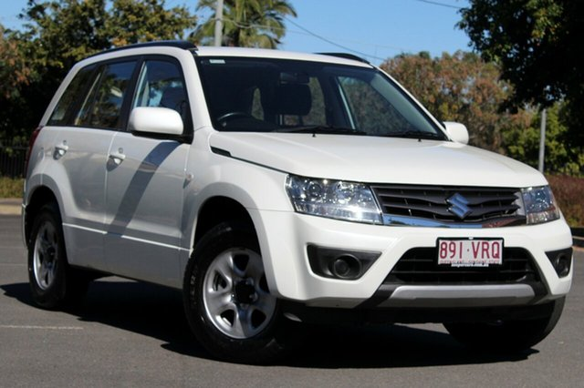 Used Suzuki Grand Vitara JB MY13 Urban 2WD, 2013 Suzuki Grand Vitara JB MY13 Urban 2WD White 4 Speed Automatic Wagon
