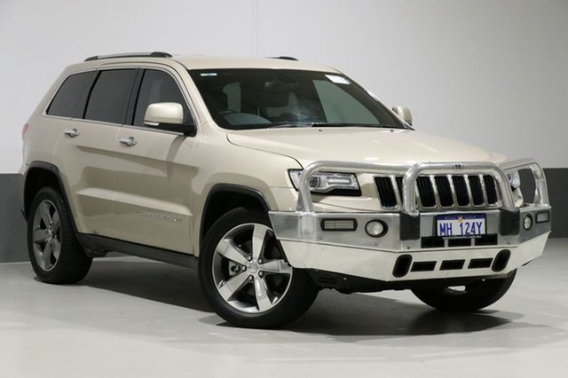Used Jeep Grand Cherokee WK MY15 Limited (4x4), 2015 Jeep Grand Cherokee WK MY15 Limited (4x4) Gold 8 Speed Automatic Wagon
