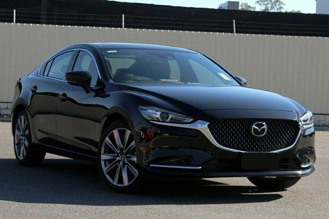 New Mazda 6 GL1033 Atenza SKYACTIV-Drive, 2019 Mazda 6 GL1033 Atenza SKYACTIV-Drive Jet Black 6 Speed Sports Automatic Sedan