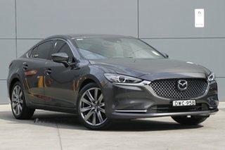2018 Mazda 6 GL1032 Atenza SKYACTIV-Drive Machine Grey 6 Speed Sports Automatic Sedan.