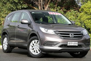 2013 Honda CR-V RM VTi Navi Urban Titanium 5 Speed Automatic Wagon.