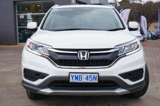 2017 Honda CR-V RM Series II MY17 VTi White 5 Speed Automatic Wagon.