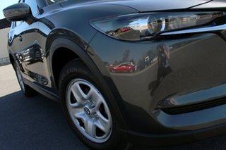 2021 Mazda CX-5 KF2W7A Maxx SKYACTIV-Drive FWD Machine Grey 6 Speed Sports Automatic Wagon.
