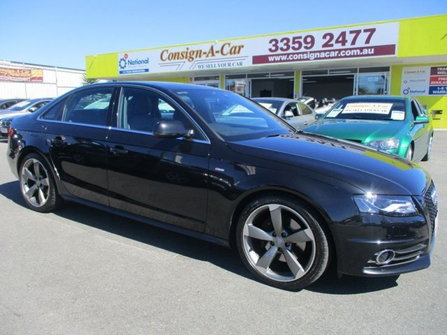 Used Audi A4 B8 8K MY12 Tiptronic Quattro, 2012 Audi A4 B8 8K MY12 Tiptronic Quattro Black 6 Speed Sports Automatic Sedan