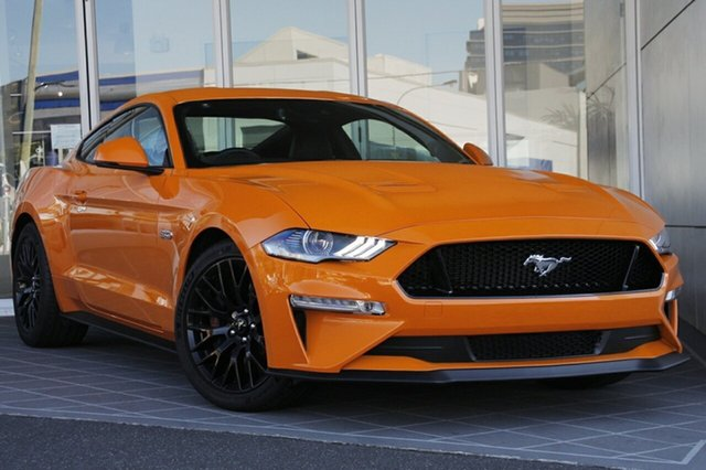 New Ford Mustang FN MY18 GT Fastback SelectShift, 2018 Ford Mustang FN MY18 GT Fastback SelectShift Orange Fury 10 Speed Sports Automatic Fastback