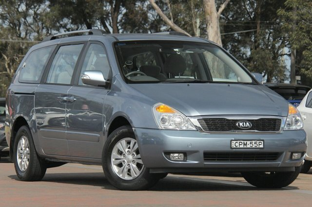 Used Kia Grand Carnival VQ MY13 SI, 2012 Kia Grand Carnival VQ MY13 SI Crystal Blue 6 Speed Sports Automatic Wagon