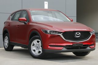 2018 Mazda CX-5 KF2W7A Maxx SKYACTIV-Drive FWD Soul Red Crystal 6 Speed Sports Automatic Wagon.