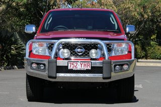 2013 Nissan Navara D40 S5 MY12 ST-X 550 Red 7 Speed Sports Automatic Utility