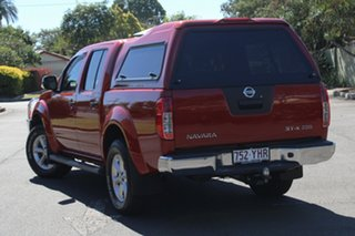 2013 Nissan Navara D40 S5 MY12 ST-X 550 Red 7 Speed Sports Automatic Utility.