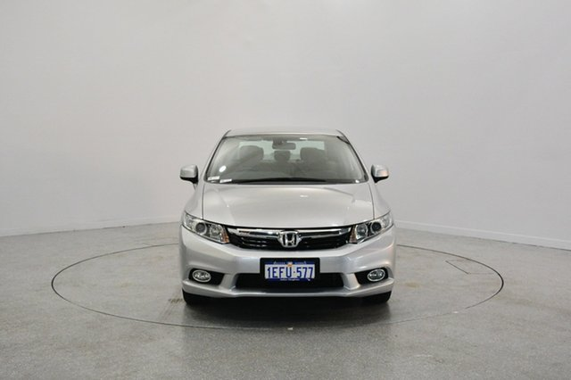 Used Honda Civic 9th Gen Ser II VTi-LN, 2013 Honda Civic 9th Gen Ser II VTi-LN Silver 5 Speed Sports Automatic Sedan