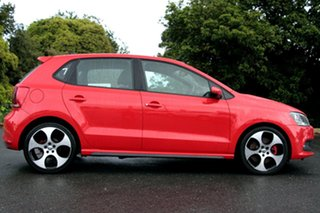 2013 Volkswagen Polo 6R MY14 GTI DSG Flash Red 7 Speed Sports Automatic Dual Clutch Hatchback