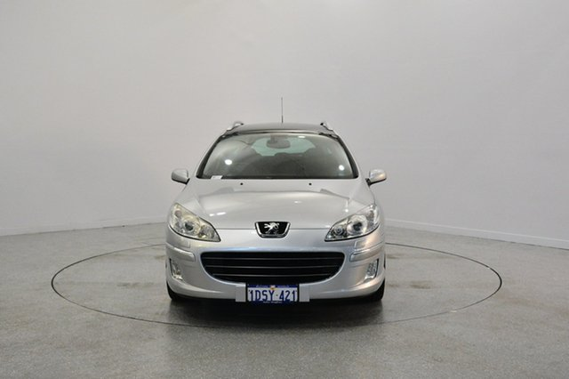 Used Peugeot 407  SV Touring HDi, 2007 Peugeot 407 SV Touring HDi Silver 6 Speed Sports Automatic Wagon