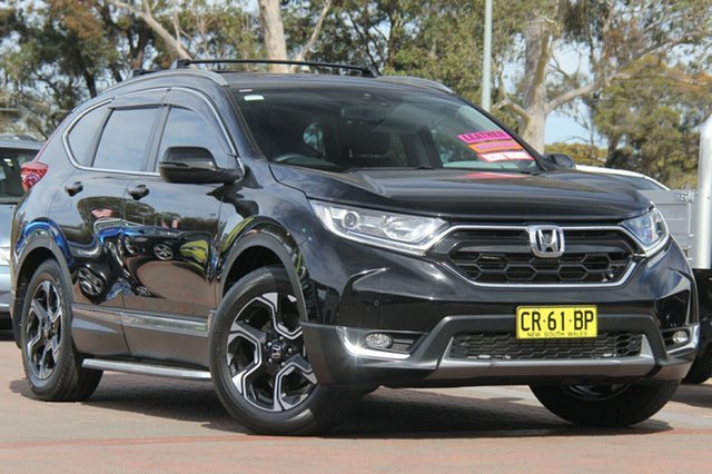 Used Honda CR-V RW MY18 VTi-L FWD, 2017 Honda CR-V RW MY18 VTi-L FWD Black 1 Speed Constant Variable SUV