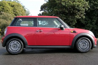 2012 Mini Hatch R56 LCI Ray Steptronic Chilli Red 6 Speed Sports Automatic Hatchback