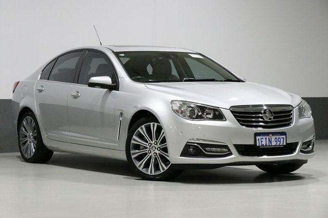 Used Holden Calais VF V, 2013 Holden Calais VF V Silver 6 Speed Automatic Sedan