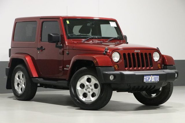 Used Jeep Wrangler JK MY13 Overland (4x4), 2013 Jeep Wrangler JK MY13 Overland (4x4) Red 5 Speed Automatic Hardtop