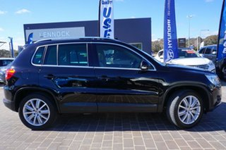 2009 Volkswagen Tiguan 5N MY09 147TSI 4MOTION Deep Black 6 Speed Sports Automatic Wagon