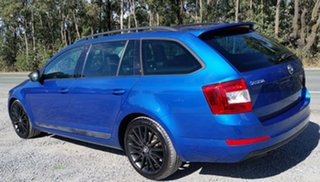 2016 Skoda Octavia NE MY16 Ambition DSG 110TSI Blue 7 Speed Sports Automatic Dual Clutch Wagon.