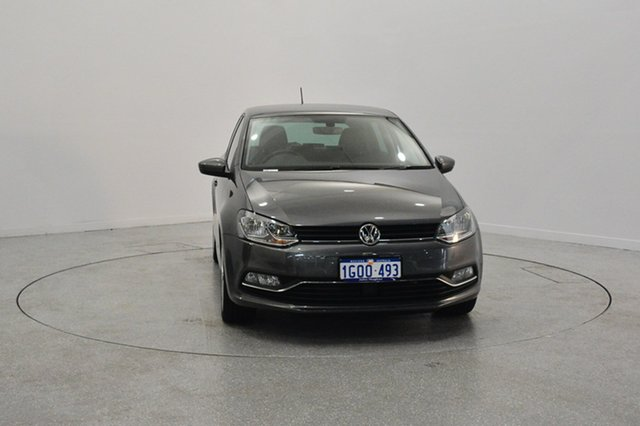 Used Volkswagen Polo 6R MY17 81TSI DSG Comfortline, 2017 Volkswagen Polo 6R MY17 81TSI DSG Comfortline Pepper Grey 7 Speed Sports Automatic Dual Clutch