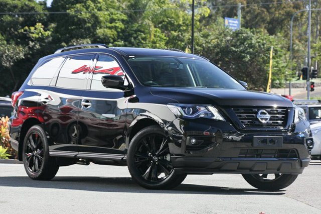 Demo Nissan Pathfinder R52 Series II MY17 ST-L X-tronic 2WD, 2018 Nissan Pathfinder R52 Series II MY17 ST-L X-tronic 2WD Diamond Black 1 Speed Constant Variable