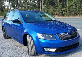 2016 Skoda Octavia NE MY16 Ambition DSG 110TSI Blue 7 Speed Sports Automatic Dual Clutch Wagon