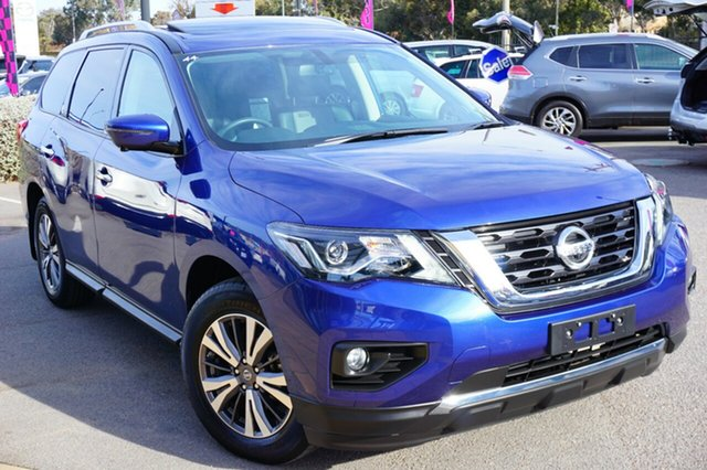 Used Nissan Pathfinder R52 Series II MY17 ST-L X-tronic 2WD, 2018 Nissan Pathfinder R52 Series II MY17 ST-L X-tronic 2WD Blue 1 Speed Constant Variable Wagon