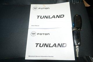2015 Foton Tunland P201 Black 5 Speed Manual Utility