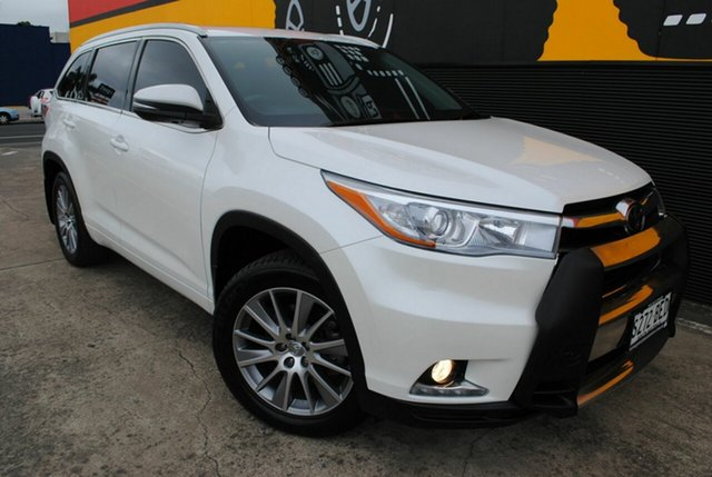 Used Toyota Kluger GSU55R Grande AWD, 2015 Toyota Kluger GSU55R Grande AWD White 6 Speed Sports Automatic Wagon