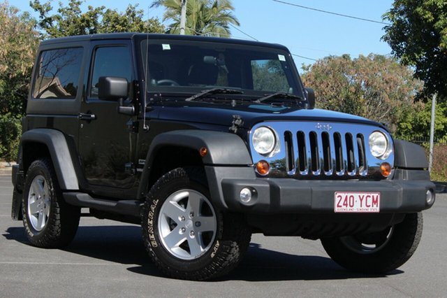 Used Jeep Wrangler JK MY2011 Sport, 2011 Jeep Wrangler JK MY2011 Sport Black 4 Speed Automatic Softtop