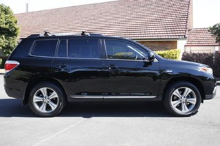 2013 Toyota Kluger GSU45R MY12 KX-S AWD Black 5 Speed Sports Automatic Wagon