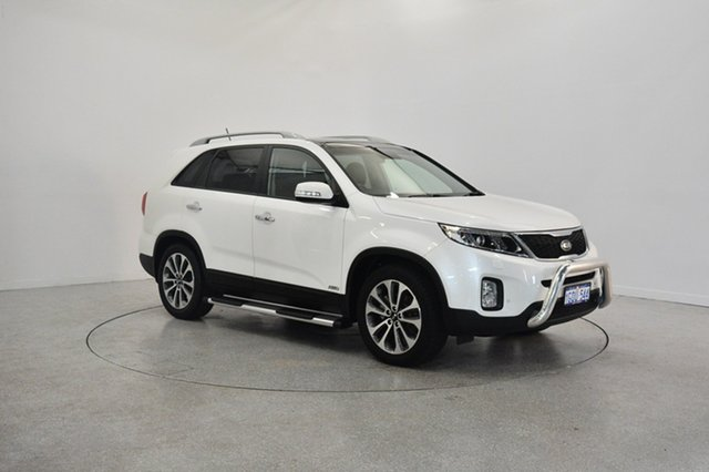Used Kia Sorento XM MY13 Platinum 4WD, 2013 Kia Sorento XM MY13 Platinum 4WD White 6 Speed Sports Automatic Wagon