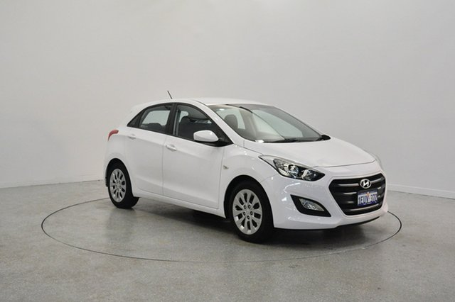 Used Hyundai i30 GD3 Series II MY16 Active, 2015 Hyundai i30 GD3 Series II MY16 Active Cream 6 Speed Sports Automatic Hatchback