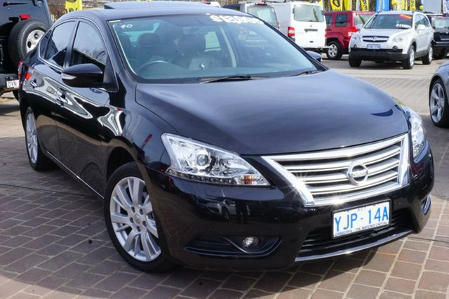 Used Nissan Pulsar B17 TI, 2013 Nissan Pulsar B17 TI Black 1 Speed Constant Variable Sedan