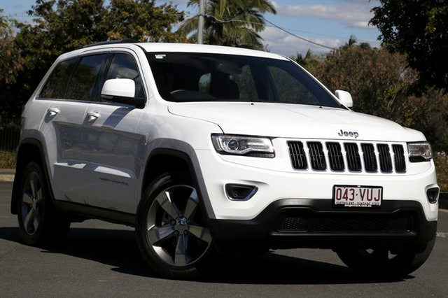 Used Jeep Grand Cherokee WK MY15 Laredo, 2015 Jeep Grand Cherokee WK MY15 Laredo White 8 Speed Sports Automatic Wagon