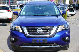 2018 Nissan Pathfinder R52 Series II MY17 ST-L X-tronic 2WD Blue 1 Speed Constant Variable Wagon.