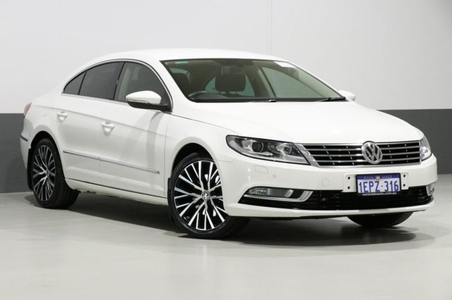 Used Volkswagen CC 3C MY15 130 TDI, 2014 Volkswagen CC 3C MY15 130 TDI White 6 Speed Direct Shift Coupe