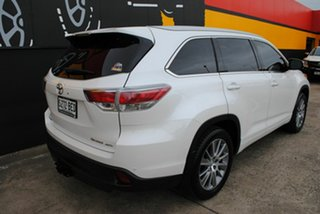 2015 Toyota Kluger GSU55R Grande AWD White 6 Speed Sports Automatic Wagon.
