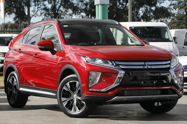 New Mitsubishi Eclipse Cross YA MY20 Exceed 2WD, 2019 Mitsubishi Eclipse Cross YA MY20 Exceed 2WD Red Diamond 8 Speed Constant Variable Wagon
