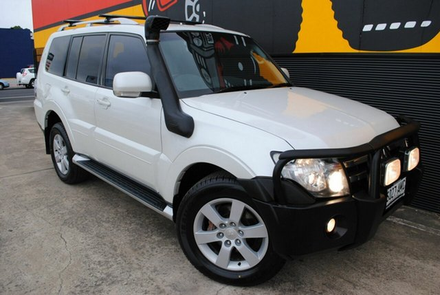 Used Mitsubishi Pajero NS VR-X, 2008 Mitsubishi Pajero NS VR-X White 5 Speed Manual Wagon