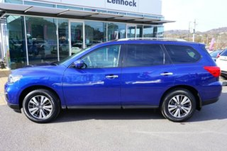 2018 Nissan Pathfinder R52 Series II MY17 ST-L X-tronic 2WD Blue 1 Speed Constant Variable Wagon