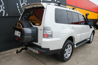 2008 Mitsubishi Pajero NS VR-X White 5 Speed Manual Wagon.