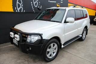 2008 Mitsubishi Pajero NS VR-X White 5 Speed Manual Wagon