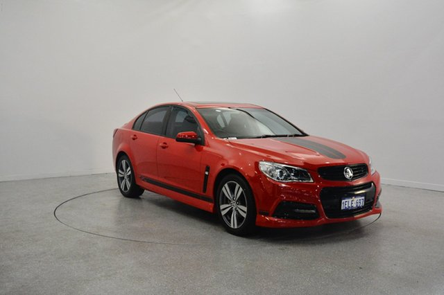 Used Holden Commodore VF MY15 SV6, 2014 Holden Commodore VF MY15 SV6 Red 6 Speed Manual Sedan