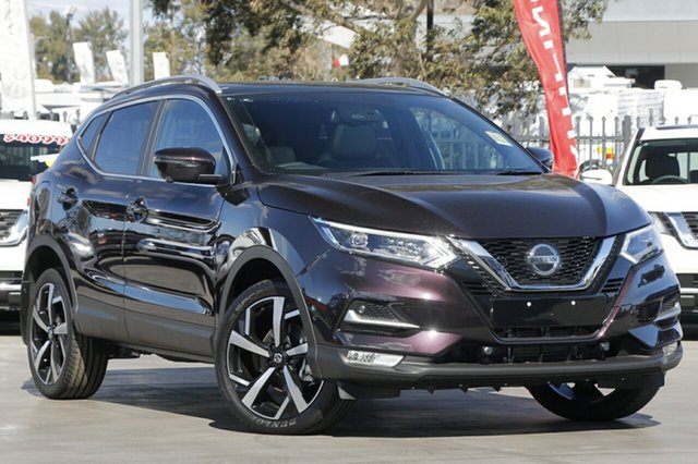 New Nissan Qashqai J11 Series 2 Ti X-tronic, 2018 Nissan Qashqai J11 Series 2 Ti X-tronic Nightshade 1 Speed Constant Variable Wagon