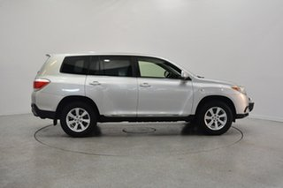 2012 Toyota Kluger GSU45R MY12 KX-R AWD Silver 5 Speed Sports Automatic Wagon