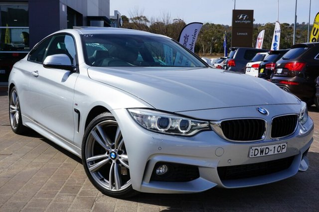 Used BMW 428i F32 M Sport, 2013 BMW 428i F32 M Sport Silver 8 Speed Sports Automatic Coupe