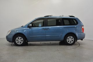2011 Kia Grand Carnival VQ MY11 SI Crystal Blue 6 Speed Sports Automatic Wagon