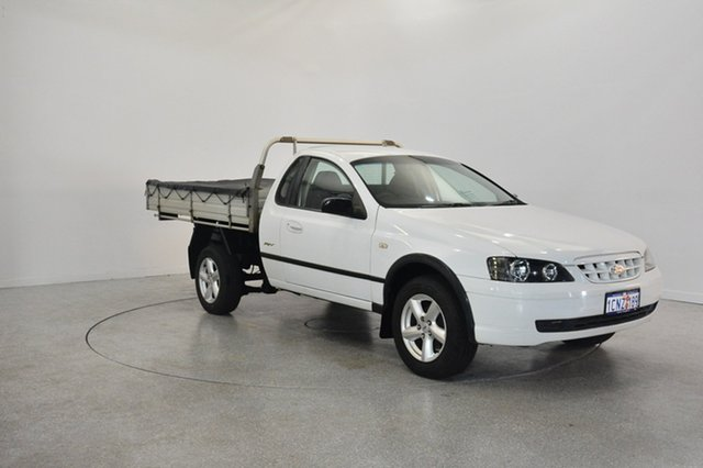Used Ford Falcon BA RTV Super Cab, 2004 Ford Falcon BA RTV Super Cab White 4 Speed Automatic Cab Chassis